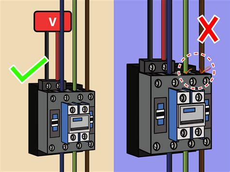 How Wire Contactor Steps With Pictures Wikihow