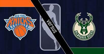 Knicks Bucks Nba York Milwaukee Logos Betting