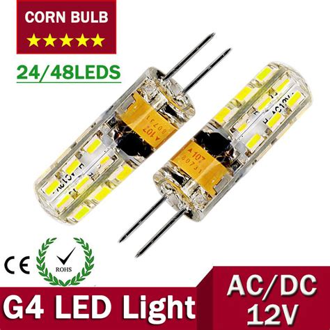 g4 led corn bulb 12v l ac dc led bulb light 3w 6w
