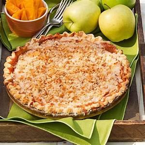Crumb Topped Apple Pie Recipe | Taste of Home