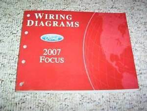 2007 Ford Focus Electrical Wiring Diagram Manual S Se Ses