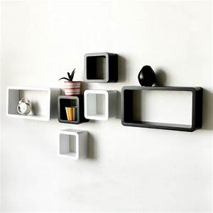 Decorative Wall Shelves – Easy to Install and Removable