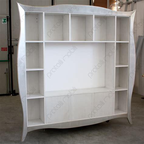 cornice porta pratelli mobili libreria porta tv maddalena con cornice
