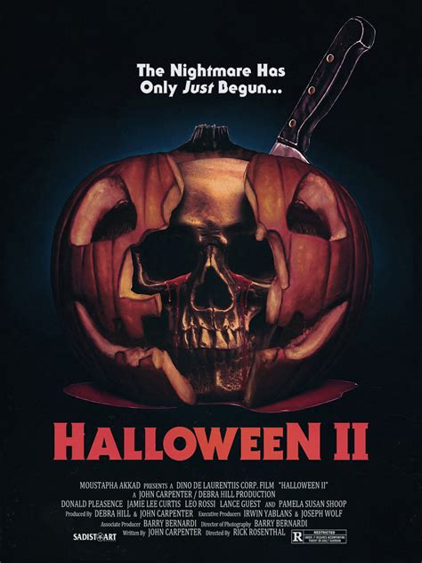 Halloween H20 Cast Michael Myers by Incredible Fan Made Poster Pays Tribute To Halloween Ii S