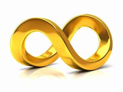 Infinity Symbol Golden
