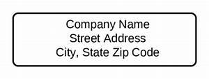 standard return address label label templates ol25 With address label companies