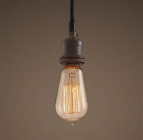 bare bulb filament single pendant portfolio stuff