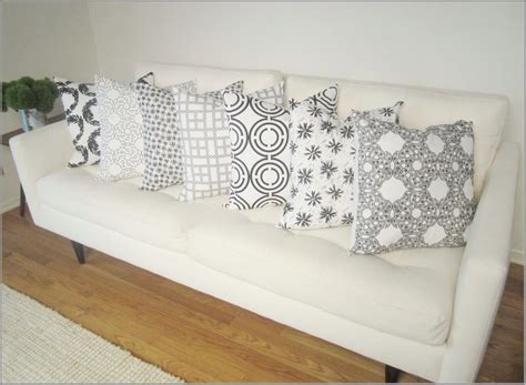 white sofa throw pillows white decorative pillows for couch best decor things