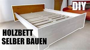Massivholz Bett Selber Bauen Anleitung : bett aus massivholz selber bauen wirklich einfach ~ Watch28wear.com Haus und Dekorationen