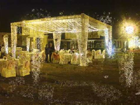 White & Gold Theme in Wedding YouTube