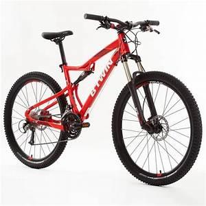 B Twin Fahrrad Test : vtt rockrider 540 s rouge 27 5 decathlon ~ Jslefanu.com Haus und Dekorationen
