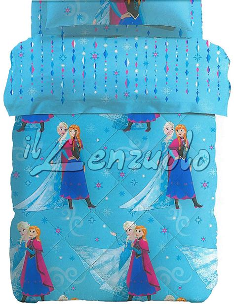 Piumoni Disney by Trapunta Disney Letto Singolo Frozen Cristal Di Caleffi