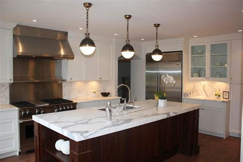Thomas O'Brien Hicks Pendants   Transitional   kitchen