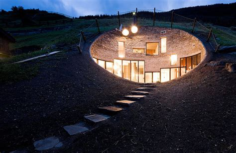 Bizarre House Inside A Hill