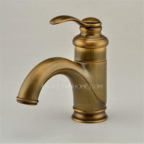 kohler single kitchen faucet antique polished brass one bathroom sink faucet