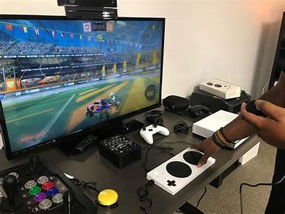 Games Playing Xbox Play Disability Lot Disabilities