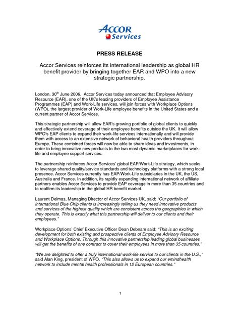 press release cover letter examples press release cover letter example gallery cover letter