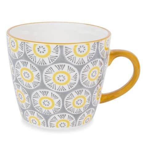malaga earthenware mug grey maisons du monde