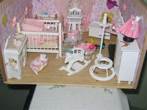 vitrine de danielle chambre de bebe les vitrines miniatures miniatures doll