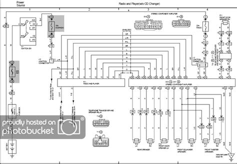 Lexus Stereo Wiring Diagram Pictures