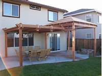 great patio wood design ideas Wooden Patio Covers: Give High Aesthetic Value and Best ...