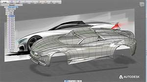 Autodesk releases automotive design showreel Car Body Design