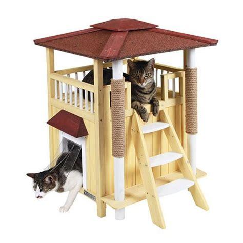 maison pour chat maison toskana niche maison pour chat kerbl wanimo