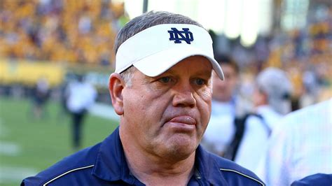 brian kelly slowly realizes    bad decision