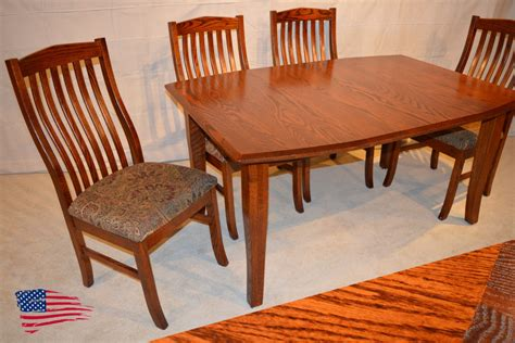 amish oak dining table jasen s furniture since 1951