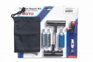 Kit Réparation Pneu Tubeless Professionnel : kit de r paration pneu moto tubeless street moto piece ~ Melissatoandfro.com Idées de Décoration