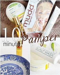 10 Minute Pre-shower Pamper