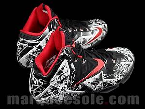 "Nike LeBron 11 ""Graffiti"" Detailed Images 