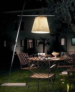 Anton angeli miami outdoor floor lamp modern