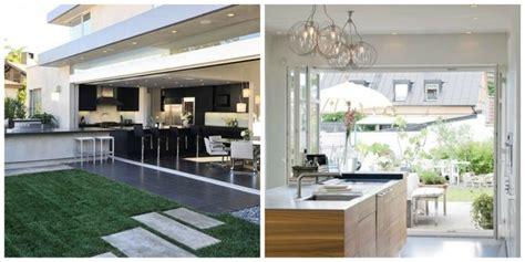 cuisine d été moderne idées aménagement cuisine ouverte sur l 39 extérieur