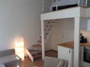 Studio Mezzanine Paris : studio flat mezzanine center paris apartments for rent ~ Zukunftsfamilie.com Idées de Décoration