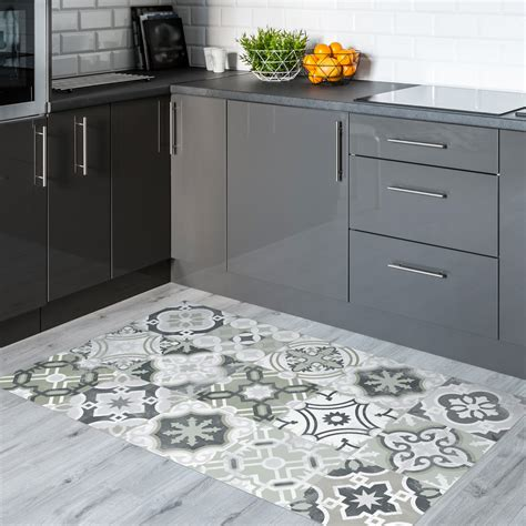 stickers carreaux de ciment sol natale anti d 233 rapant 60x100cm salle de bain et wc salle de
