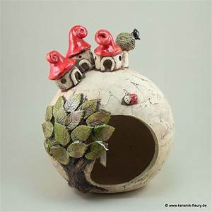 Töpfern Ideen Für Haus Und Garten : wichtel windlicht fleury kreative keramik f r haus und garten ton pinterest haus und ~ Frokenaadalensverden.com Haus und Dekorationen