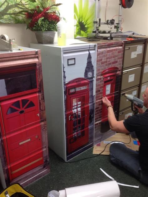 upcycle   filing cabinets vinyl wrap