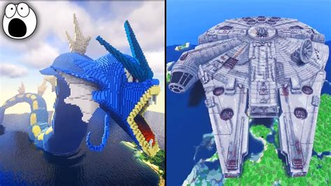 amazing minecraft creations builds  youtube