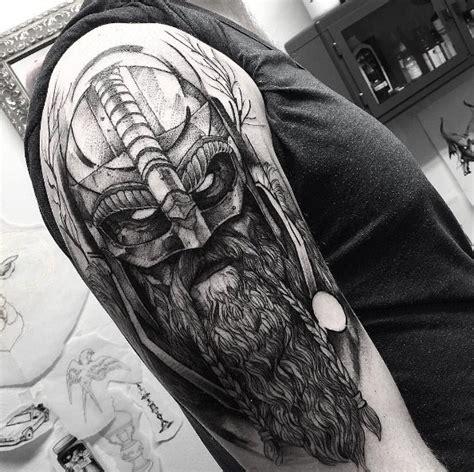 incredible viking ship tattoos