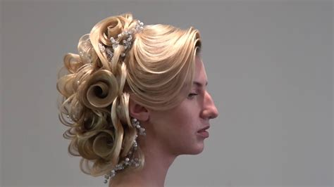 hair tutorial wedding bridal hairstyle updo farrukh
