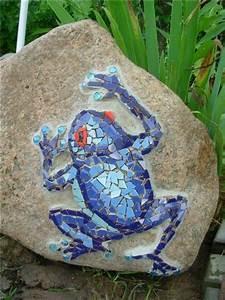 Stein Mosaik De : mosaik basteln stein mosaik im garten mosaik pinterest mosaik steine und g rten ~ Markanthonyermac.com Haus und Dekorationen
