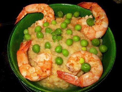 cuisiner petit pois frais recettes de gambas de recettes de crevettes