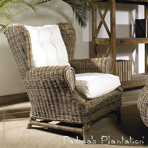 kubu wing chair padma s plantation metropolitandecor