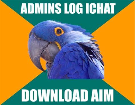 Parrot Meme - paranoid parrot meme on tumblr
