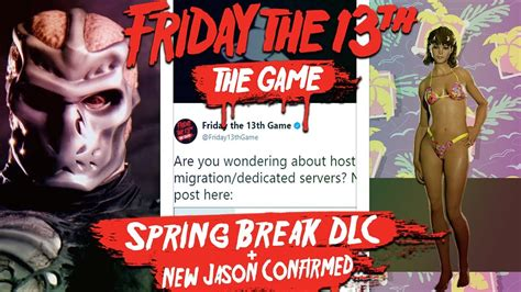 New Spring Break Dlc For Friday The 13th The Game Is Coming!  Dlc Map & Host Migration