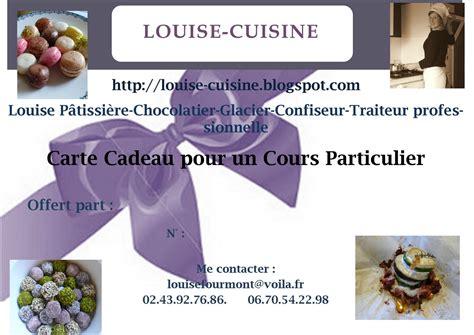 Cours De Cuisine Particulier - louise cuisine une idée cadeau un cours particulier