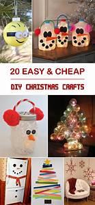 20, Easy, U0026, Cheap, Diy, Christmas, Crafts