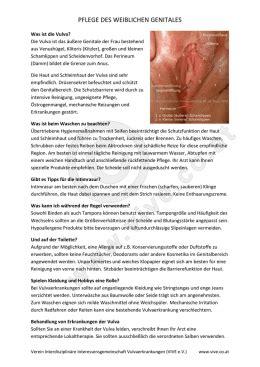 veraenderungen der vulva  der adoleszenz