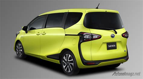 Review Toyota Sienta by All New Toyota Sienta Rear Autonetmagz Review Mobil